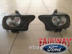 07 thru 09 Mustang SVT Shelby GT500 OEM Ford Halogen Head Lamps Lights PAIR