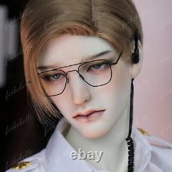 1/3 BJD Boy Dolls Human Demon Head Male Uncle Resin Doll + Eyes + Face Make up