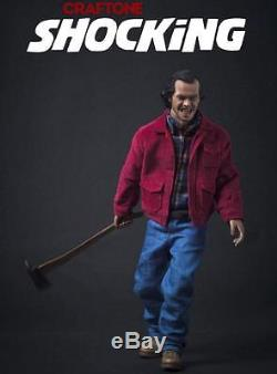 1/6 Jack Nicholson The Shining figure set with 2 heads hot axe toys USA IN STOCK