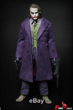 1/6 Joker Heath Ledger FULL SET BATMAN THE DARK KNIGHT TOYS HOT USA IN STOCK