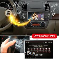 10.1 Android 8.0 Single DIN Dash Car Radio Stereo GPS Head Unit SAT NAV WiFi FM
