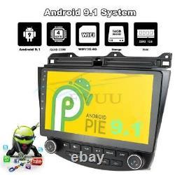 10.1'' Android 9.1 Stereo Radio Head Unit GPS Navigation For 03-07 Honda Accord