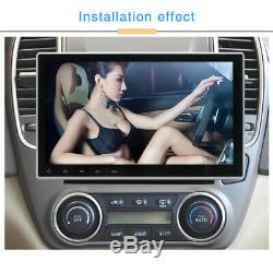 10.1'' Single Din Android 9.1 Car Head Unit Touch Screen GPS Wifi MP5 Bluetooth