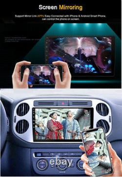 10.1 Thin Pad Touch Car Android 8.1 Stereo Radio 2DIN Head GPS Wifi Blueteeth