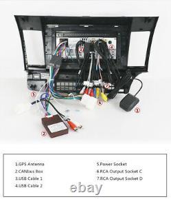 10.1Car Stereo For Mitsubishi Lancer Android 10 Auto Radio GPS Navi Head Unit