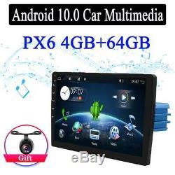 10'' Android 10.0 Car Stereo 4GB GPS NAVI Big Screen Radio PX6 Head unit 1 DIN