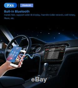 12.8 2DIN Android 9.0 Radio Stereo Head Unit GPS Navigation 4+32GB with Car Play