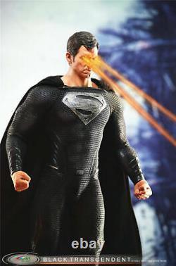 16 BY-ART BY-015 Superman Clark Kent Kal-El Action Figure Black Suit Ver