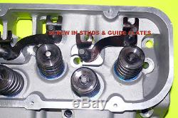 2 New Gm Procomp Bbc Chevy Aluminum Cylinder Heads 396 427 454 No Core
