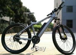 27.5 Electric Mountain Bike ebike 39Km/h Max 250w 36v 10.4ah Head Light