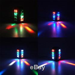 2PC 80W 8-LEDs RGBW LED Stage Spider Moving Lights Lighting Head DMX Disco Party