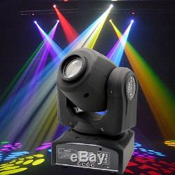 2PCS 30W RGBW Stage Lighting Spot GOBO LED Moving Head DMX Disco DJ Party Lights