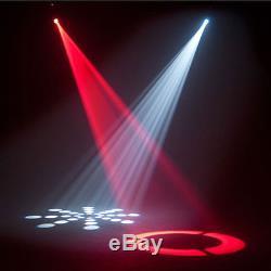 2Pcs 60W RGBW LED Moving Head Stage Light DMX 512 DJ Club Disco Party Light USA