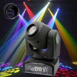 2x U`King 30W LED Moving Head Stage Light DMX Spot DJ Gobo DMX Disco Club Party