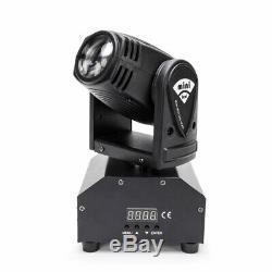 4PCS 50W RGBW LED Beam Moving Head Stage Lighting DMX512 DJ Disco Party Light