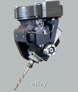 5-axis CNC Milling Machine BC Rotary Head