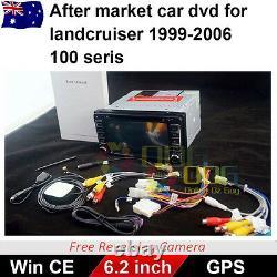 6.2 Inch For Toyota 1999-2006 100 Series Landcruiser Car DVD GPS Head Unit 2 Din