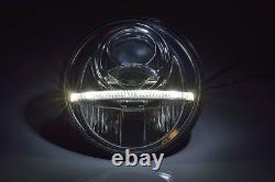 7 Bi-LED Hauptscheinwerfer schwarz matt 2. Generation Headlight NOLDEN