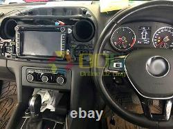 8 Car DVD GPS Navigation Head Unit Stereo Radio For Volkswagen Amarok 2011-2016