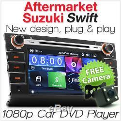8 Car DVD USB MP3 Player For Suzuki Swift Head Unit MP4 Stereo Radio Audio CD G
