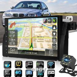 9'' Android 9.0 Stereo Head GPS Sat Nav WiFi Camera For BMW E46 320 330 323 325
