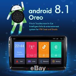 A-Sure Android 8.0/8.1 VW Golf MK5 MK6 9 Car Head Unit Stereo Sat Nav GPS DAB+