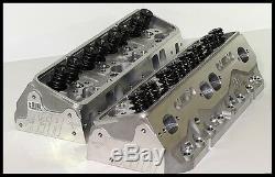 AFR CHEVY SBC 383 406 ELIMINATOR HEADS 195cc 65cc FULLY BUILT # 1034-HR St. Plug