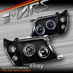Angel Eyes Projector Head Lights & Corner for Toyota LAND-CRUISER Prado FJ90