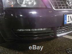 Audi S6 TFL Tagfahrleuchten Gitter APT-Modul A6 4F A4 original ULO LED Leuchten
