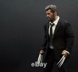 Authentic Eleven 1/6 Wolverine Black suit Set Logan with GangHood USA IN STOCK