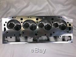 BBC Aluminum Cylinder Head Rectangle 124cc 345cc Port Bare Chevy454 of 2 pcs