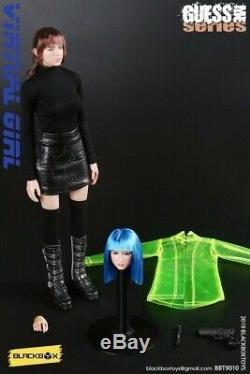BLACKBOX 1/6 Blade Runner Virtual Women Suit Figure withHead Sculpt Toy BBT9010