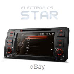 BMW E46 318 M3 Stereo 7 GPS Sat Nav Head Unit Car CD DVD Player Radio Bluetooth