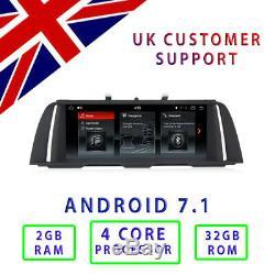 BMW F10 F11 Quad Core Android 7.1 10.25 Car Radio GPS Head Unit for 5 series