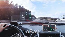 BOYO CARROBOT Dash Mount HUD Head Up Display See MPH Navigation Calls BRAND NEW