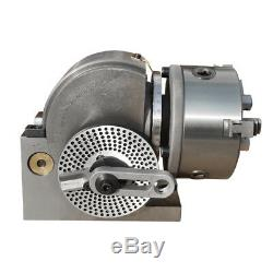 BS-0 Semi-Universal Cnc Milling Dividing Head with Tail Stock Dividing Indexing