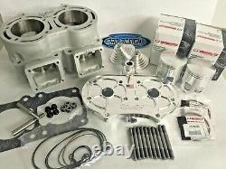 Banshee 521 cc 10 mil Super Cub Cylinder Pistons Noss Head Big Bore Top End Kit