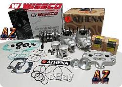 Banshee Athena 400 68 Complete Big Bore Kit Cylinders Pistons Wiseco Crank Head