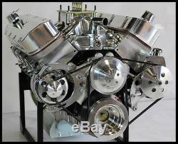 Bbc Chevy 632 Stage 9.5 Turn Key Motor Merlin Block, Afr Heads 812 HP Turn Key
