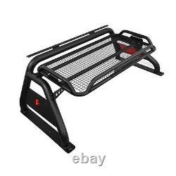 Black Horse Fits 07-20 Toyota Tundra Roll Bar Bed Cargo Sport Head Rack RB-BA1B