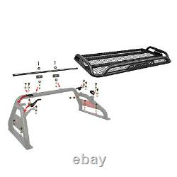 Black Horse fits 00-20 Ford F-150 Roll Bar bed cargo sport head