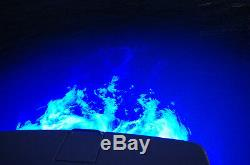 Blue Yk3b Led Boat Drain Plug Light Triple Head Design! Underwater 3400 Lumens
