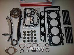 Bmw Mini One R50 R52 R53 1.6 Timing Chain Kit + Head Gasket Set & Head Bolts