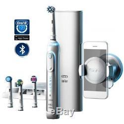 Braun Oral-B Genius 9000 Toothbrush Bluetooth, 4 Brush Heads, 2 Year Warranty