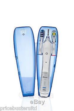 Braun Oral B Pro 6000 With Smartguide + Trizone + Cross Action Brush Heads New
