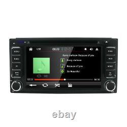 Car DVD Player For Toyota Universal Stereo Head Unit Radio GPS MAP CD Camera BT