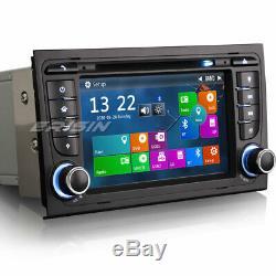 Car Stereo Head Unit Audi A4 S4 RS4 GPS Satnav DAB+ DVD USB Bluetooth AUX Canbus