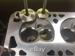 Chevrolet LS1 LS2 LS6 210cc 64cc Assembled Aluminum Cylinder Heads Pro Header