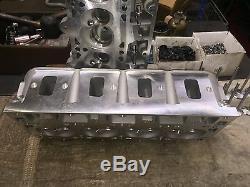 Chevrolet LS7 LS3 291cc 69cc New Assembled Aluminum Cylinder Heads Pro Header