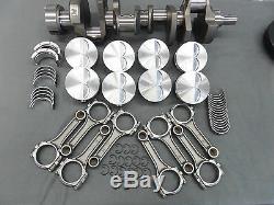 Chevy 383 Turn Key Roller Stroker Engine Black Thunder Series Crate Motor